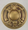 Elaborate Brass Door Knob Front View